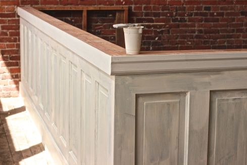 Wainscoting 1